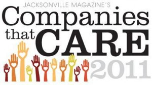 Jacksonville Magazine Companies That Care 904 Magazine Companies with Heart - Media Relations by Axia