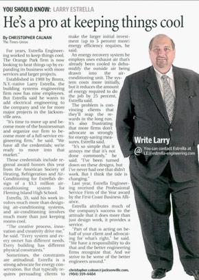 Estrella magazine article.