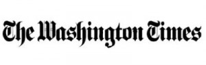 Washington Times Logo - Axia Public Relations