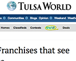 Tulsa World Franchises coverage of Brightway Insurance