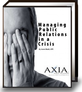 Crisis PR Free Ebook - Managing Public Relations in a Crisis