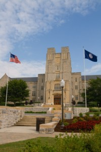 Virginia Tech campus.  Image courtesy of Photos.com.
