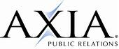 AXIA logo with public relations