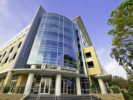 Take a look at the front of Axia Public Relation's Orlando office.