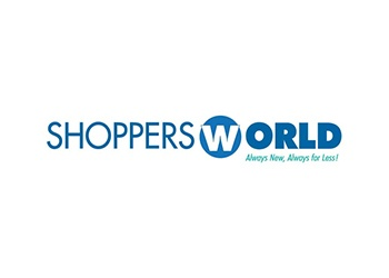 Shoppers World is a discount department store with 40 U.S. stores in 10 states.
