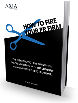 Are you unhappy with your PR firm to the point where you want to get rid of them? Learn how to fire them with this free ebook.
