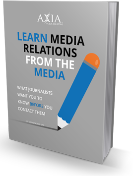 Axia Public Relations has a free ebook for those that want to learn how to establish or improve a relationship with the media, right from the media itself!