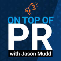 On Top of PR podcast logo.