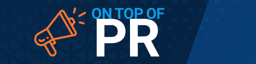 On Top of PR Graphic