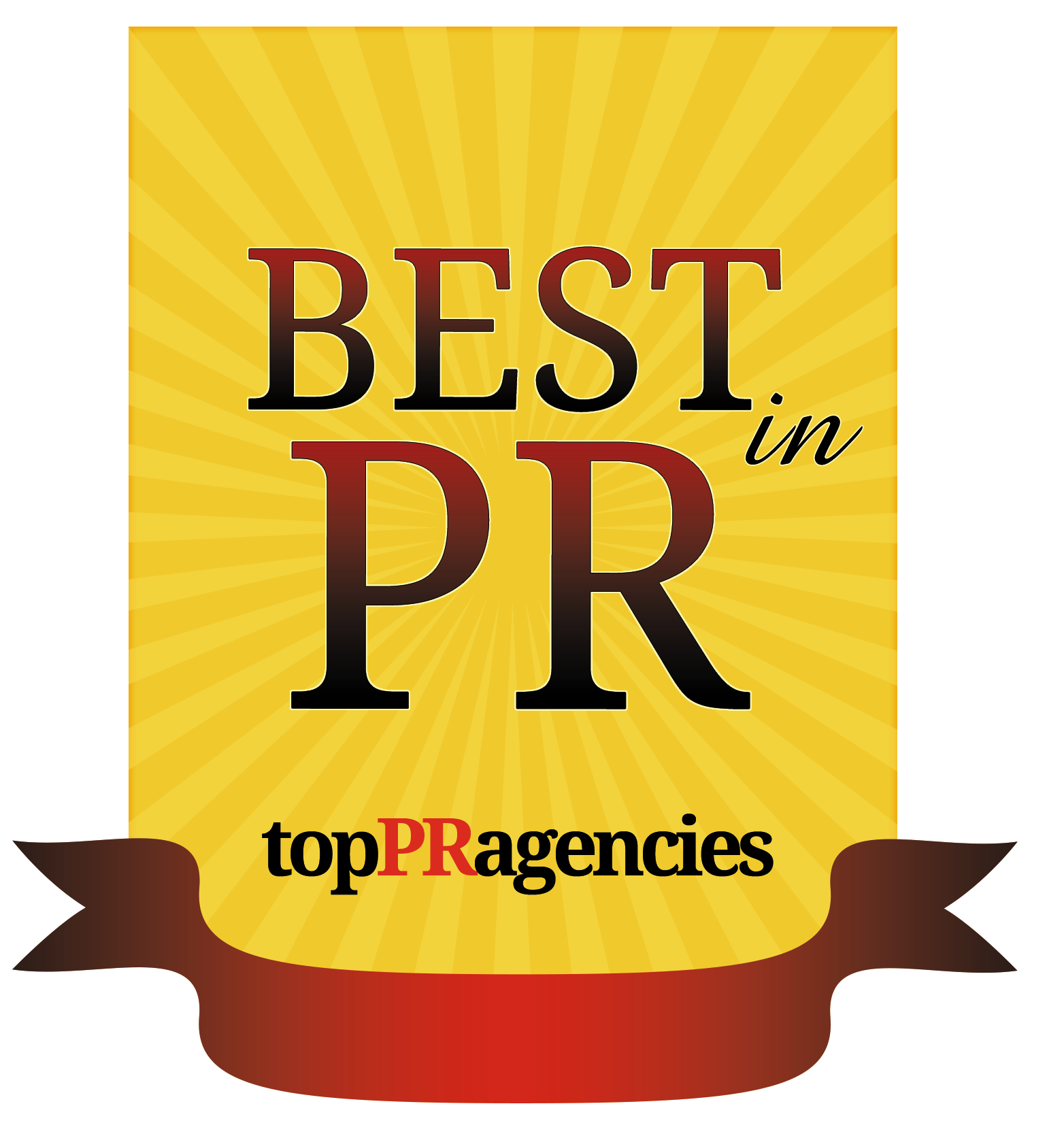 Best in PR award from TopPRAgencies
