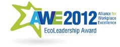 EcoLeadership award - Awe 2012 - Award Recognition PR by Axia