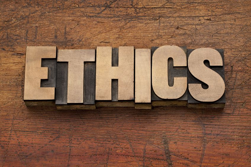 Ethics are key in your communications.