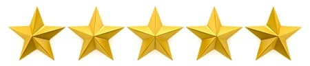 Get the five star reviews that will boost your company.
