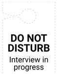 Do Not Disturb hanger image version