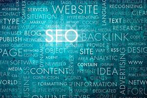 Words related to SEO.