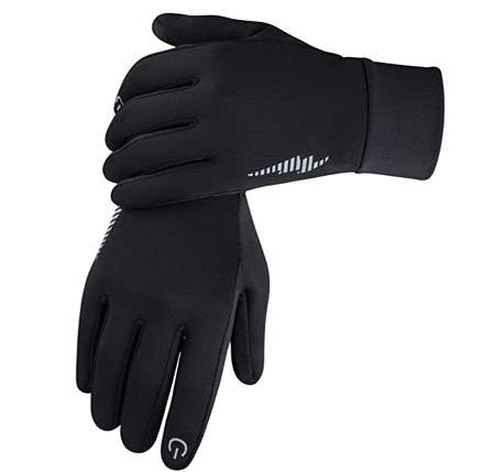 Gloves for keeping warm that allow easy touchscreen usage.