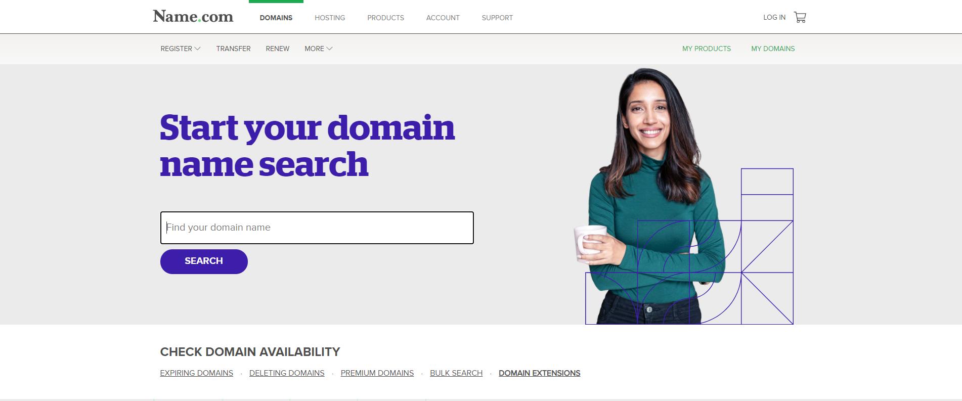 website as pr tool example 1