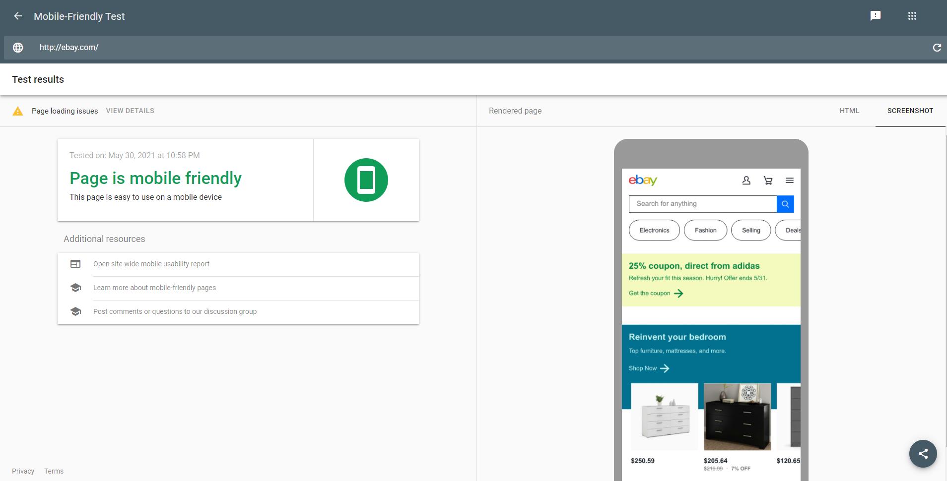 website as pr tool example 9