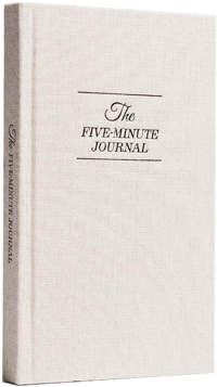 A journal you can spend five minutes out of your day to use.