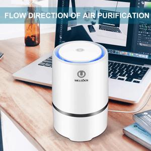 An air purifier promo.