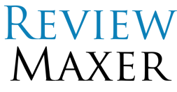 ReviewMaxer logo.