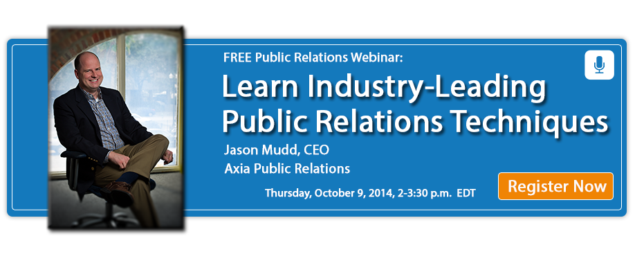 Register for the Public Relations Q&A Webinar