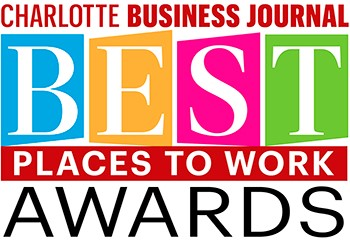 Best Place to Work Award - Charolette Buiness Journal - Axia Public Relation