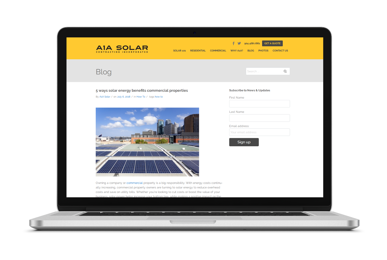 a1asolar-blogging