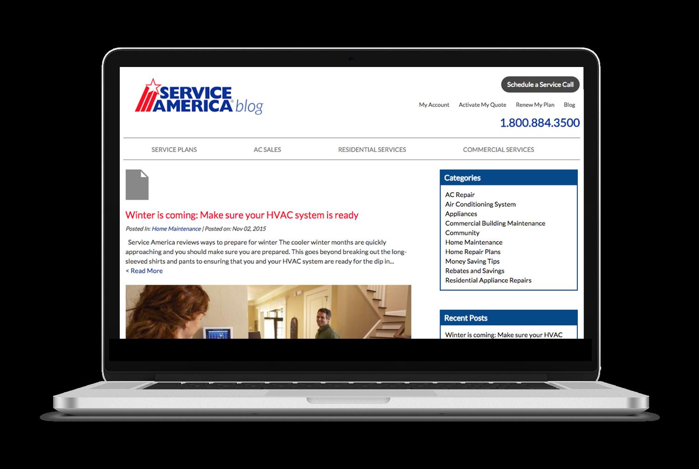 Service America Blogging